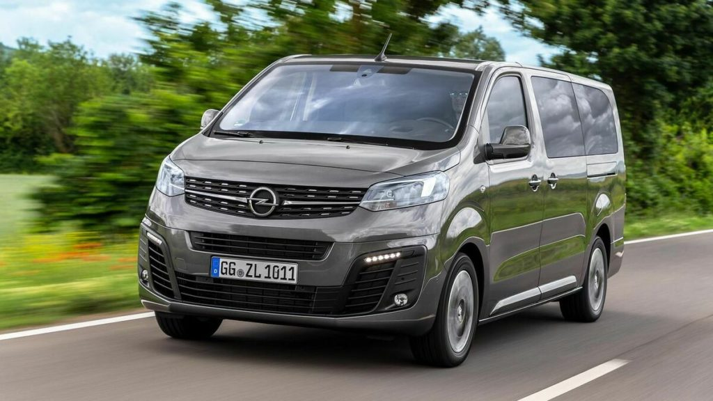 Opel Zafira személyszállító, csomagszállító kisbusz